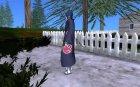 Саске Акацуки для скин селектор для GTA San Andreas вид слева