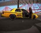 Ford Crown Victoria Taxi из Resident Evil: ORC для GTA San Andreas вид изнутри