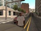 Живой CJ как в GTA VC для GTA San Andreas вид сзади слева