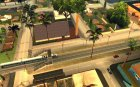 Бетонные дороги Лос-Сантос Beta для GTA San Andreas вид изнутри