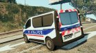 Opel Vivaro Police Nationale for GTA 5 left view