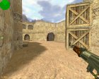 AK 47 Ретекстур for Counter-Strike 1.6 rear-left view