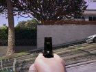 Colt M1911 Black 1.0.0 для GTA 5 вид сзади слева