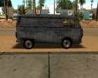 VW Transporter T2 Custom для GTA San Andreas вид сзади слева