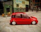 2004 Fiat Panda for GTA 4 top view
