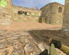 SCAR-L с голографическим прицелом для Counter-Strike 1.6 вид сверху