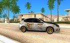 Subaru 4WD 2008 for GTA San Andreas inside view