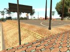 Новые текстуры баскетбольной площадки. for GTA San Andreas right view