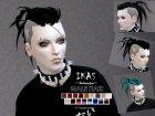IKAS - Hair style для Sims 4 вид сзади слева