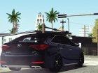 2017 Hyundai Sonata для GTA San Andreas вид сбоку