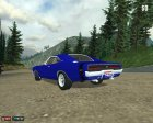 Dodge Charger R/T 1969 for Mafia: The City of Lost Heaven top view