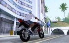 Yamaha V-Ixion Red Indonesia for GTA San Andreas rear-left view