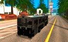 Троллейбус ЗИУ 52642 for GTA San Andreas top view