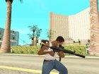 Black MP5 для GTA San Andreas вид изнутри