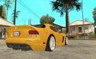 Dodge Viper SRT10 Stock for GTA San Andreas top view