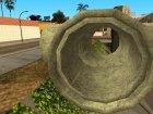 Новые канализационные трубы для GTA San Andreas вид сзади