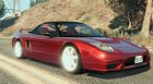 Honda NSX 1.2 for GTA 5 top view