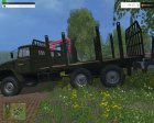 Лесовоз УРАЛ for Farming Simulator 2015 side view