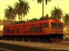 Alstom 4144 Electric Locomotive (Thailand) для GTA San Andreas вид сзади слева
