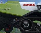 Claas Lexion 770 TT для Farming Simulator 2015 вид сзади