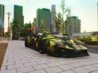 Lamborghini Huracan Performante Liberty Walk 2018 для GTA San Andreas вид сбоку
