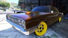 1967 Dodge Coronet 440 1.0 for GTA 5 top view
