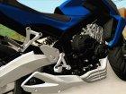 Honda CB650F Azul для GTA San Andreas вид сбоку