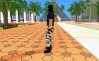 Phoenix из Counter-Strike на замену ballas2 для GTA San Andreas вид слева
