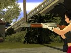 Remington 870 China Wind для GTA San Andreas вид сзади слева
