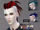 IKAS - Hair style для Sims 4 вид слева