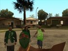HD Пак банд Los Santos'а for GTA San Andreas right view