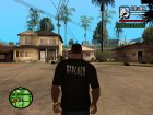 Футболка с логотипом игры Stalker for GTA San Andreas top view
