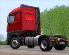 Mercedes-Benz Actros MP4 Stream Space Black для GTA San Andreas вид сзади