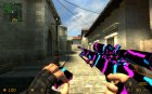 Sick AWP for Counter-Strike Source rear-left view