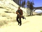 Skin HD GTA Online DLC for GTA San Andreas rear-left view