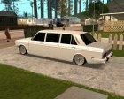Peykan Limozine for GTA San Andreas rear-left view