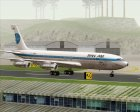 Boeing 707-300 Pan American World Airways (Pan Am) for GTA San Andreas side view