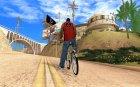 Новый велосипед для GTA San Andreas вид сзади слева