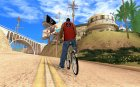 Новый велосипед for GTA San Andreas rear-left view
