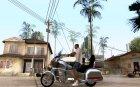 Honda Goldwings v1.1a для GTA San Andreas вид сверху