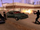Кровь на стекле авто for GTA San Andreas left view