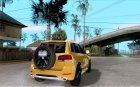 Volkswagen Touareg R50 for GTA San Andreas top view