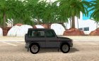 Mercedes-Benz G500 1999 Short [with kangoo v1] for GTA San Andreas inside view