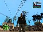 "Ветровка  ""Анархиста"" для GTA San Andreas вид сзади слева"