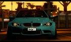 BMW M3 E92 Liberty Walk LB Performance for GTA San Andreas top view