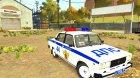 """ВАЗ 2105 """"Полиция"""" для GTA 4 вид слева"""