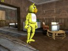 Chica из Five Nights Att Freddy's for GTA San Andreas left view