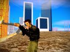 GTA 3 Claude Ped для GTA San Andreas вид сверху