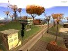 Осенние листья на деревьях. v1.0 для GTA San Andreas вид слева