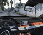 2012 Audi A8L W12 1.1 for GTA 5 inside view